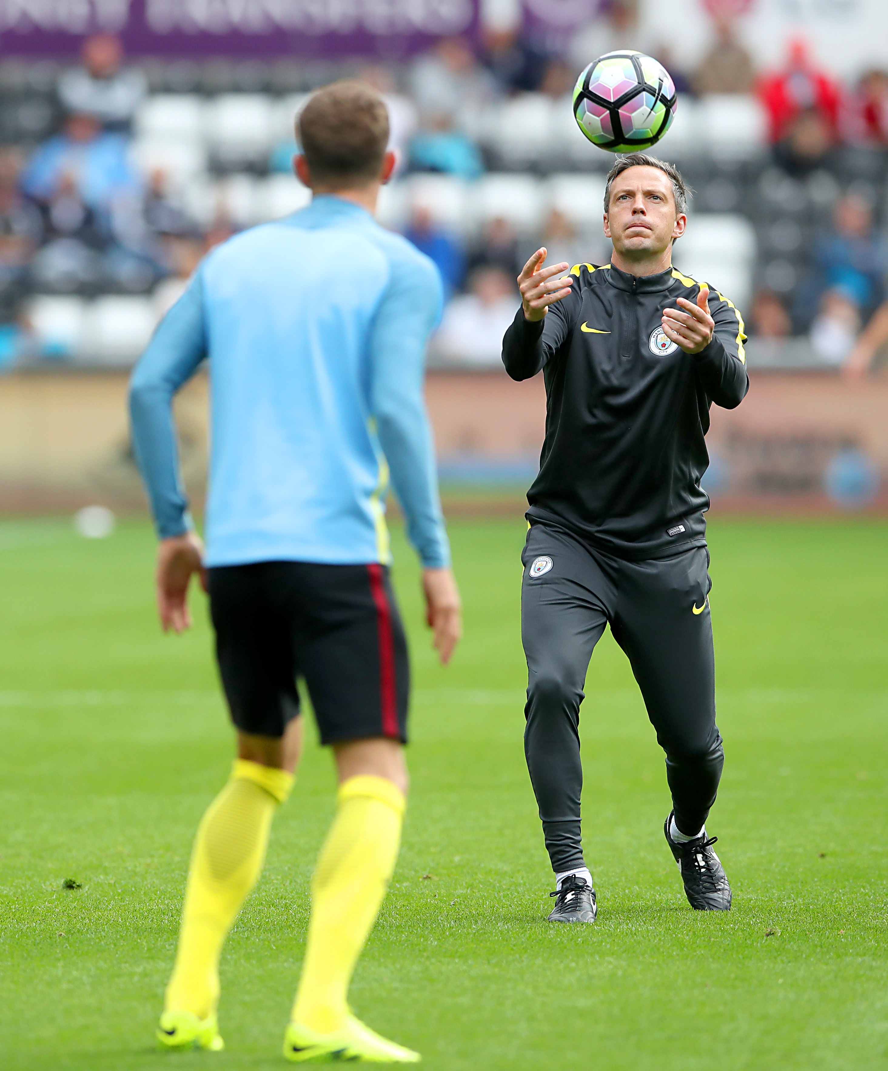 Manchester City and England Sam Erith Head of Sports Science