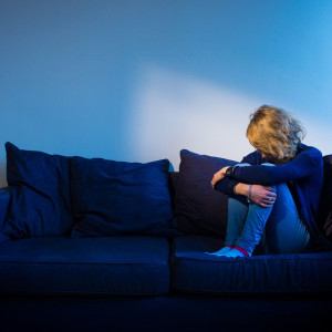 PICTURE POSED BY MODEL File photo dated 09/03/15 of a woman showing signs of depression. Almost a quarter of adults living under the coronavirus lockdown in the UK have felt lonely - raising concerns about the long-term risk to mental health.
